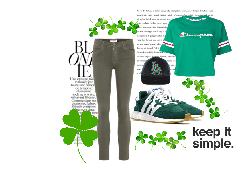 THINK GREEN ST. PATTY'S DAY