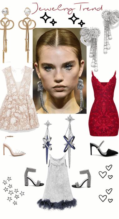 Jewelry Trend - Long Earrings