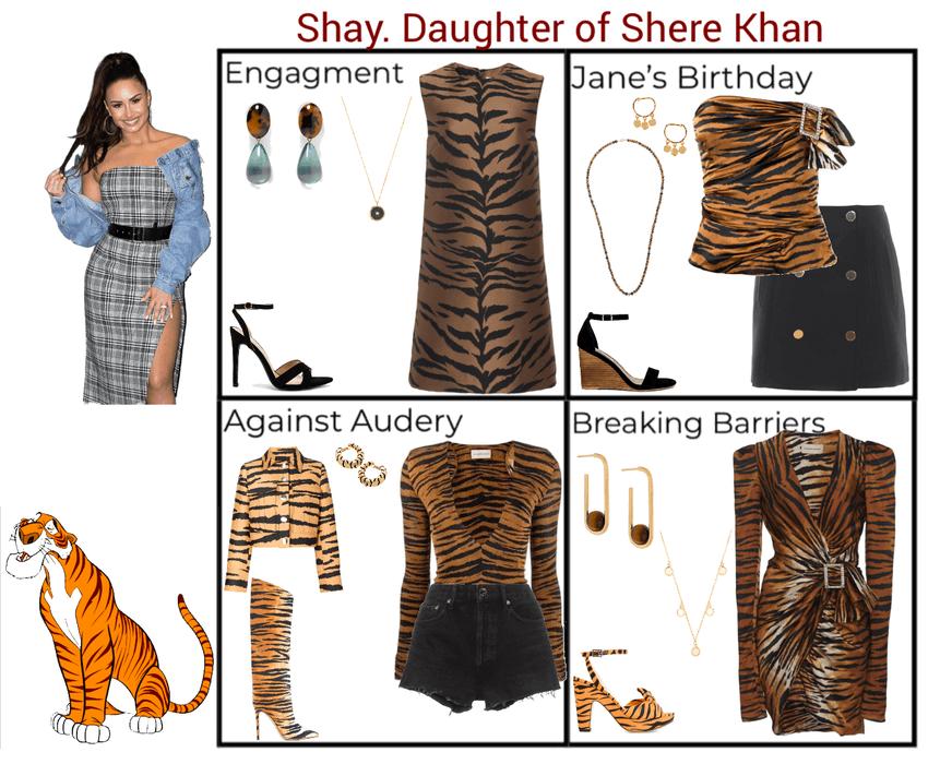 Shay. Daughter of Shere Khan. Descendants 3