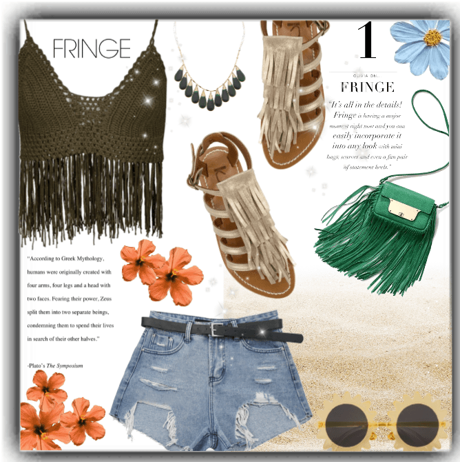 Summer Outfit: Fringes!