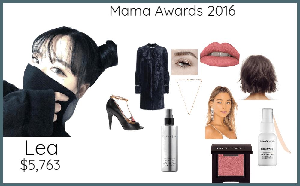 Mama Awards 2016 Lea
