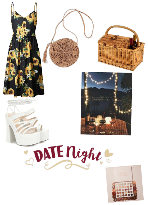 Summer date night outfit