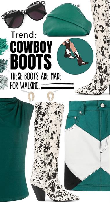 trend: Cowboy boots