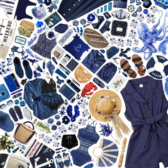 Blue Navy Spring