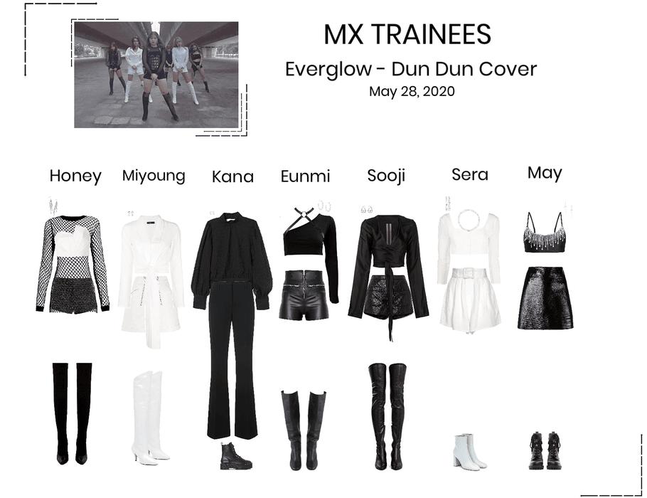 MX Trainees - Dun Dun Cover