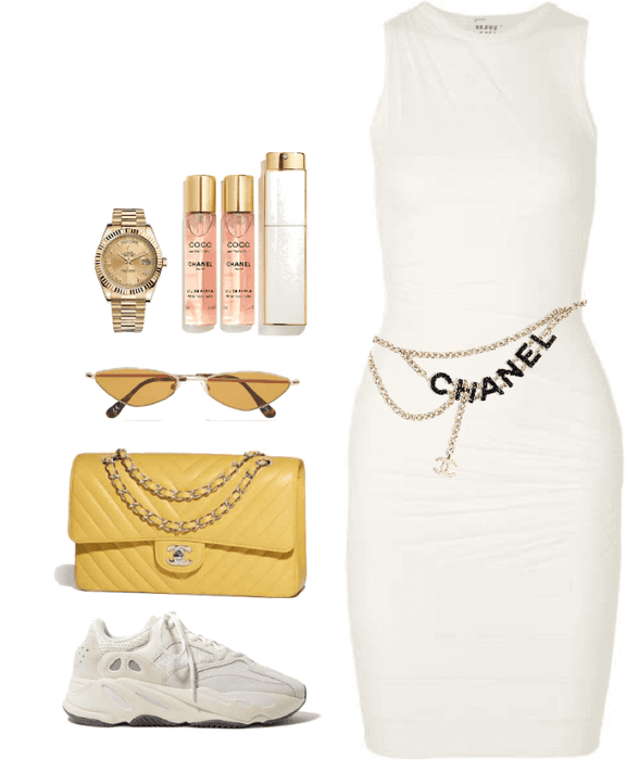 sneakers and parfum.