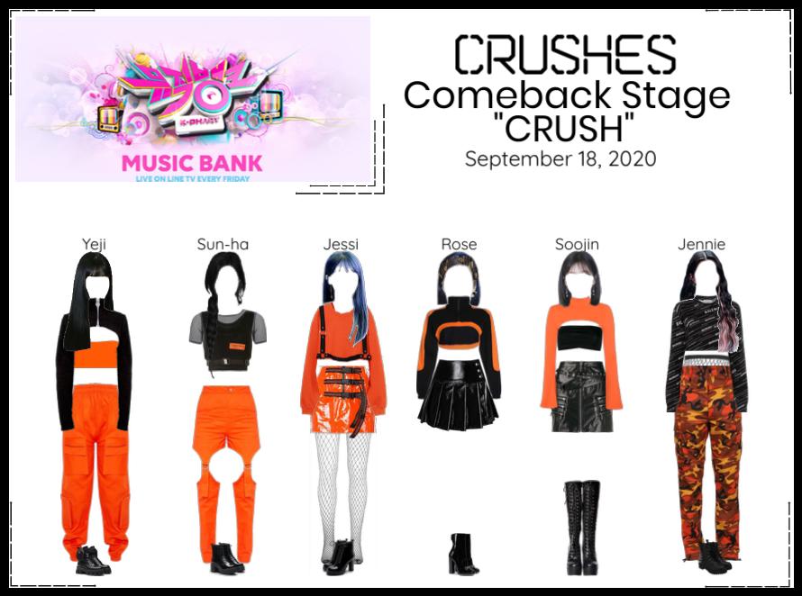 """Crushes (호감) """"CRUSH"""" Comeback Stage"""