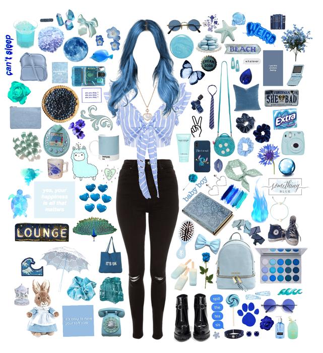 blue as the sea