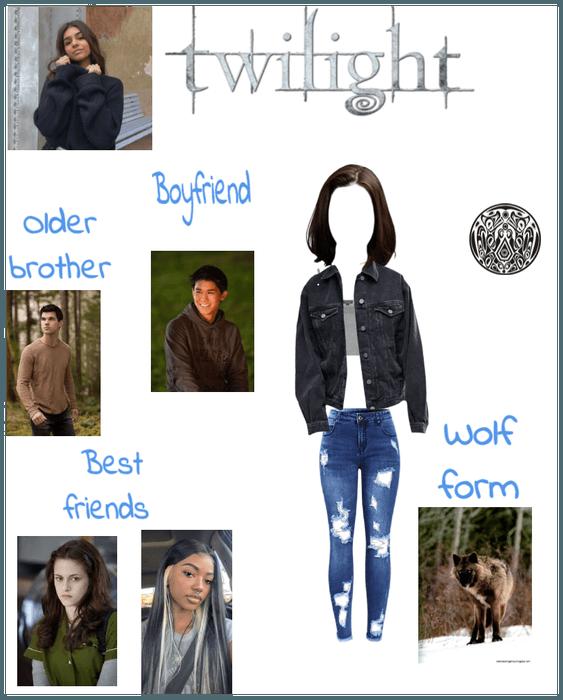 Twilight oc Jacy Black