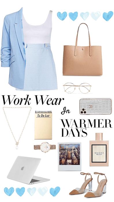 warm weather work wear
