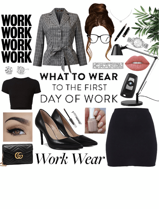 First Day Of Work Fit