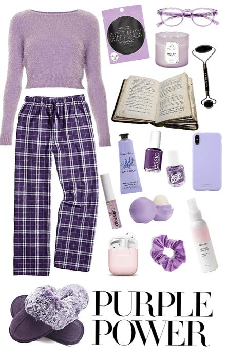 Purple Pajamas