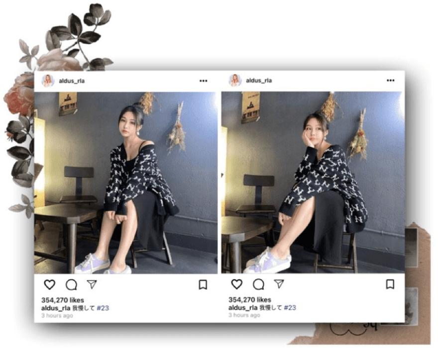 라로그 [𝗟𝗮 𝗥𝗼𝘂𝗴𝗲] - Miyeon instagram post (03032021)