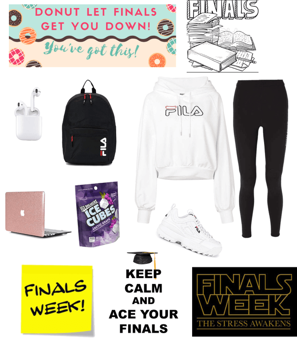 Finals week 😞😑