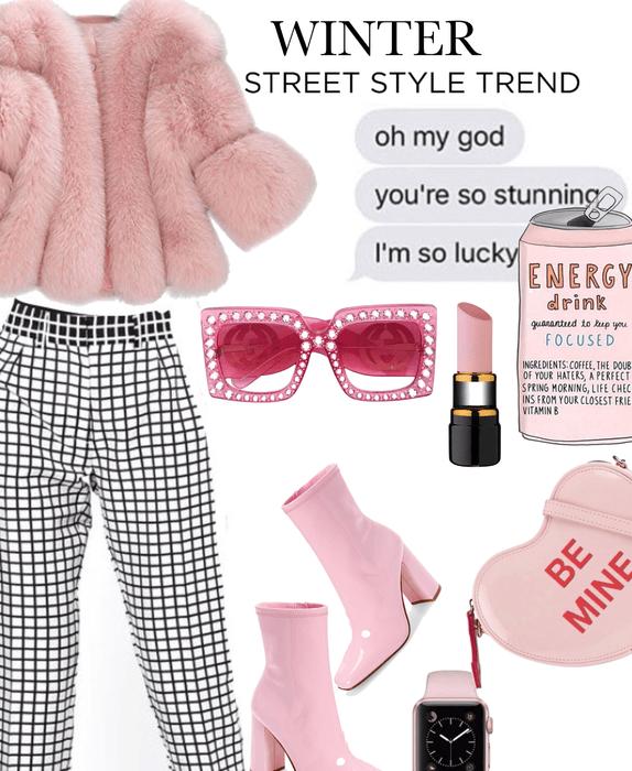 Winter Street Style. Challenge set