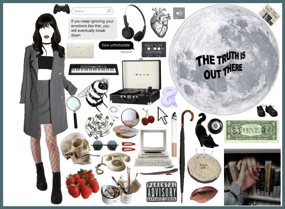 Character aesthetic- Olivia