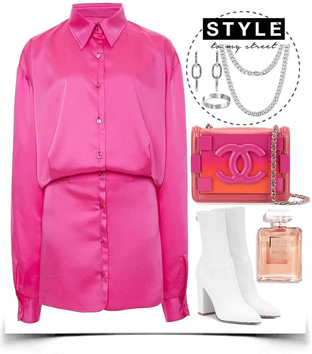 fresh pink look