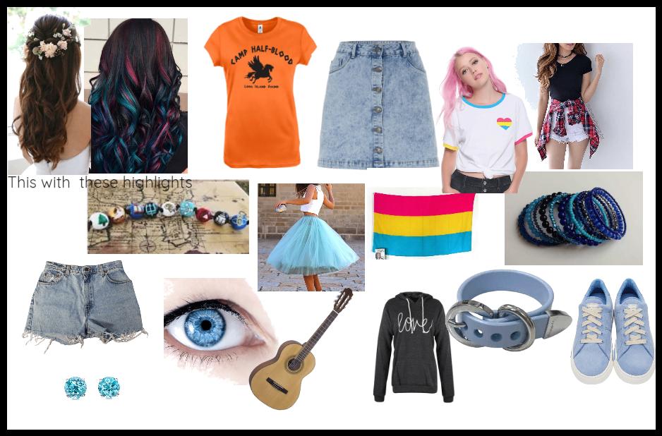 My oc's wardrobe:Emily