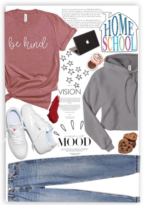 Homeschool style teenager. 💛