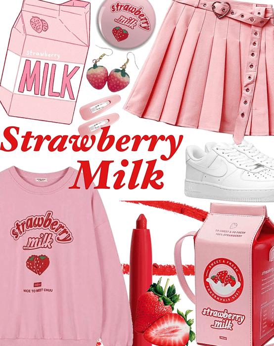 FALL 2020: Strawberry Milk 🍓🍓🍓