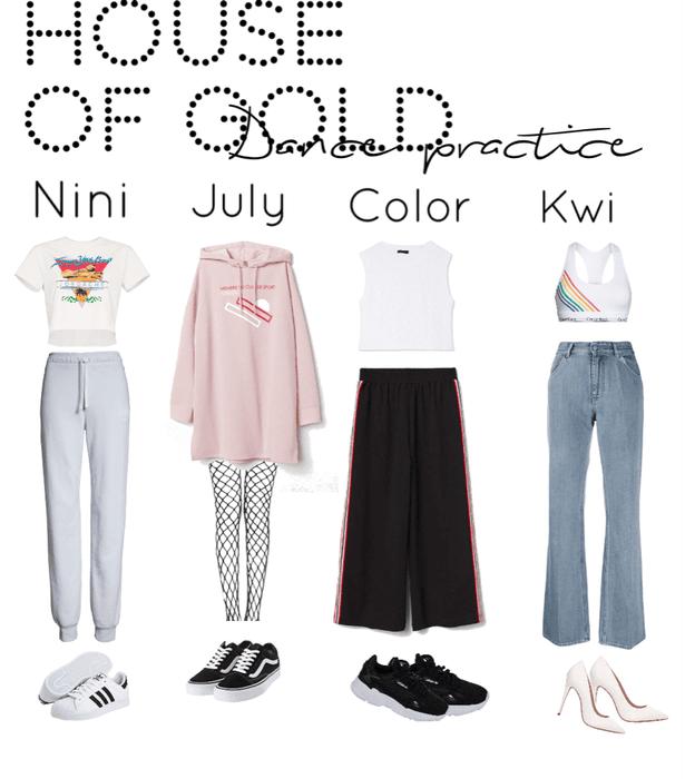 House Of Gold||Dance Practice||[4est]•