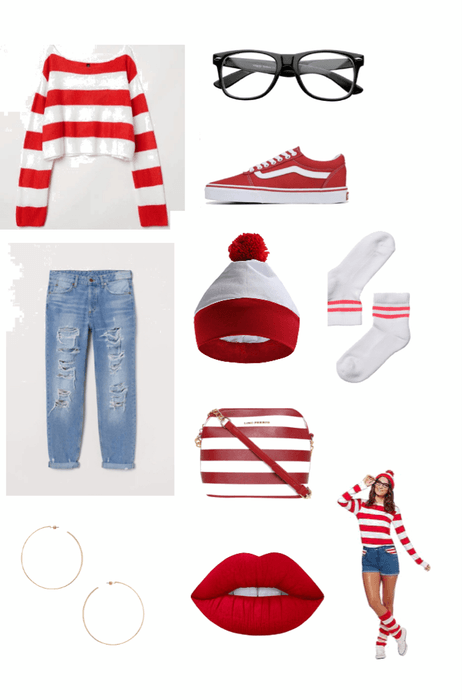 where's Waldo re-creation