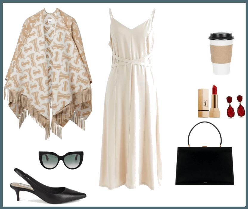 Elegant cold summer fashion