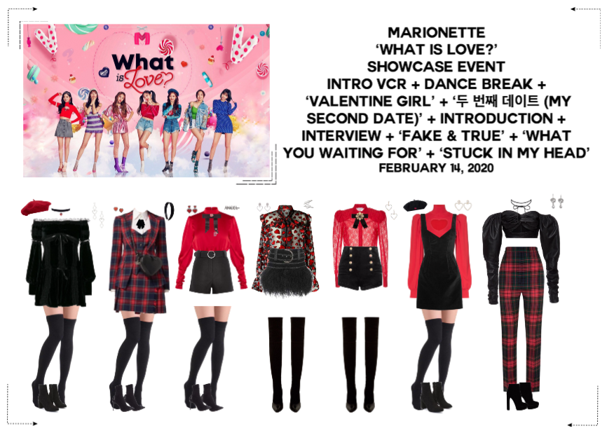 MARIONETTE (마리오네트) 'What is Love?' Showcase Event