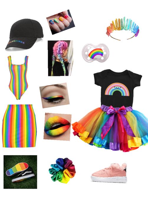 Gay Pride❤️🧡💛💚💙💜