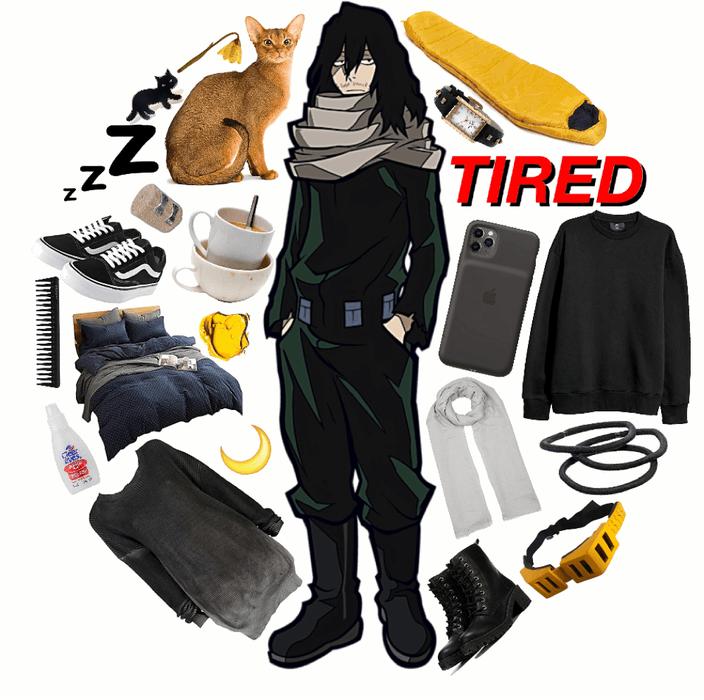MY HERO ACADEMIA: Aizawa (Eraser-Head)