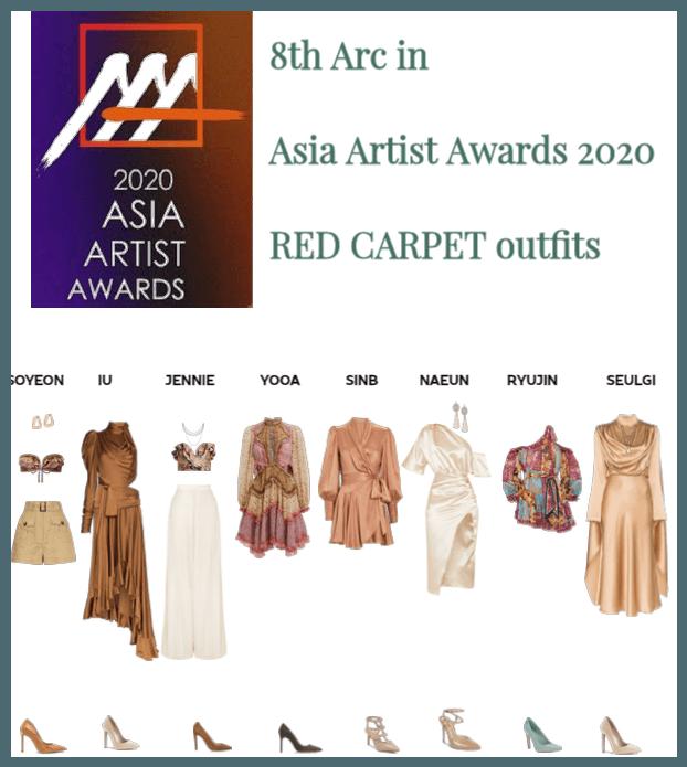 Asia Artist Awards 2020 : red carpet