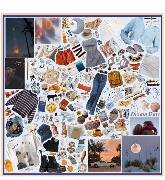 dream date miodboard for instagram