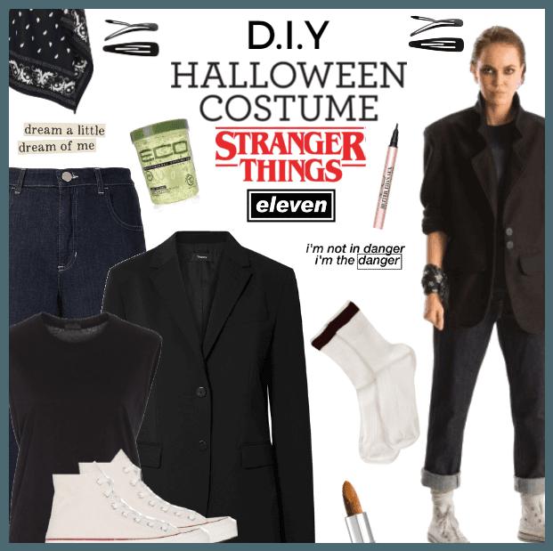 DIY Halloween Costume Stranger Things Eleven