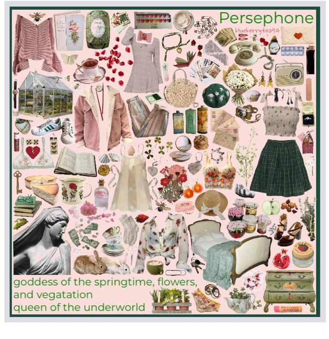 Persephone moodboard