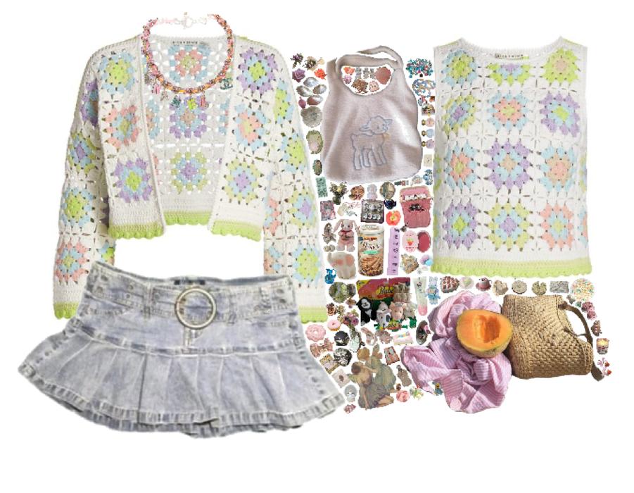 crochet picnic 🧺