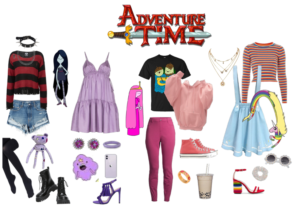Marceline,Bubblegum,LSP,Ledy Rainicorn