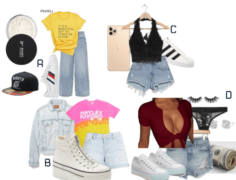 Song based outfits