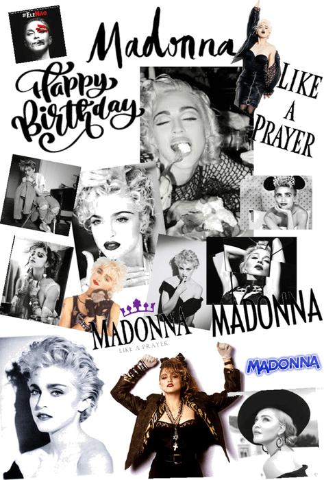 happy birthday 🥳 madonna xox