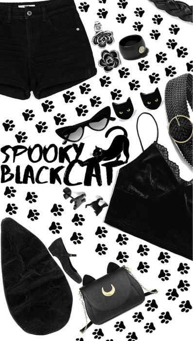 🖤Spooky Black Cat style🖤