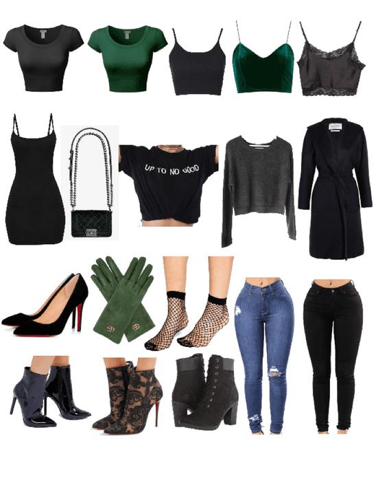 Slytherin Wardrobe Essentials