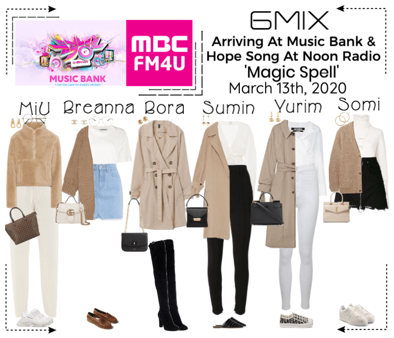 《6mix》Arriving At Music Bank & Radio Show