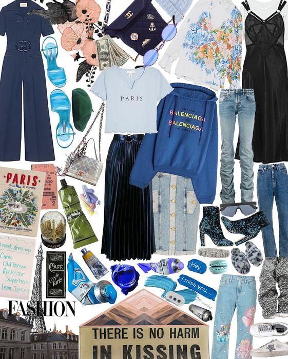 Paris Fashion Week: Blue Edition