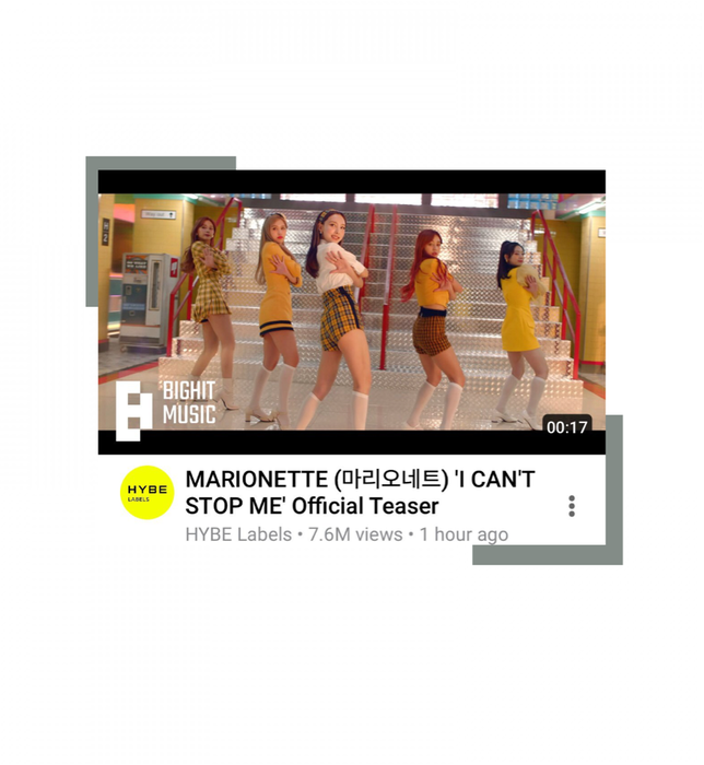 마리오네트 (MARIONETTE) - 'I CAN'T STOP ME' MV TEASER O1