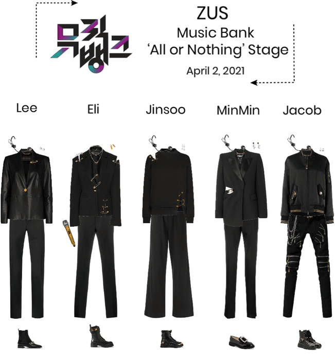 Zus//'All or Nothing' Music Bank Stage