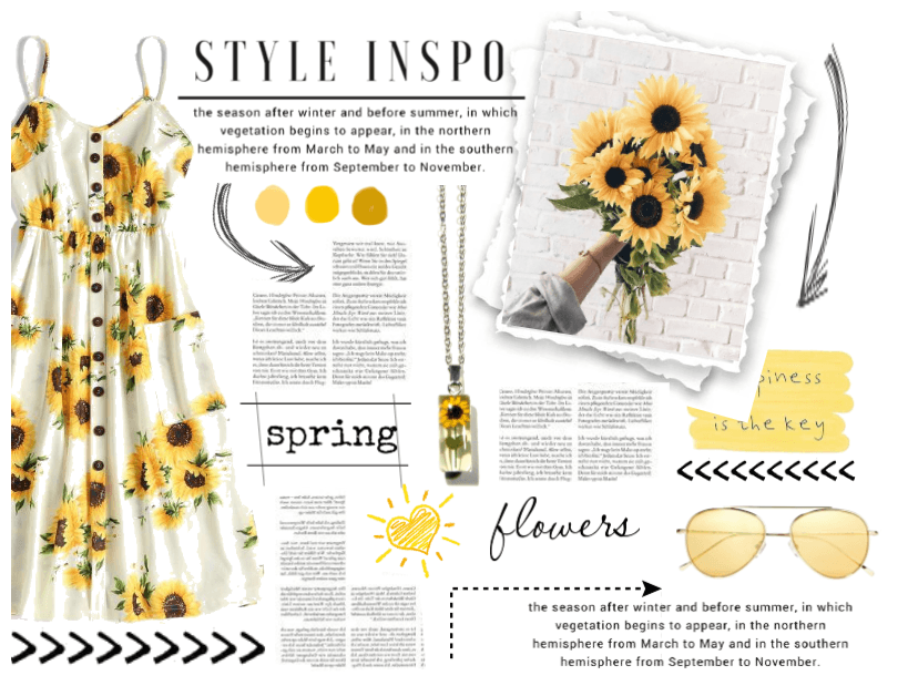 Sunflower Midi Dress