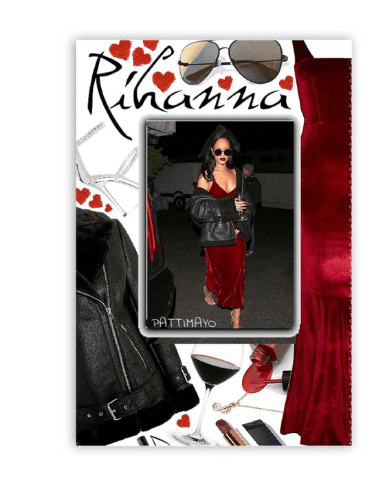 Rihanna Celebrity Costume 🖤🖤