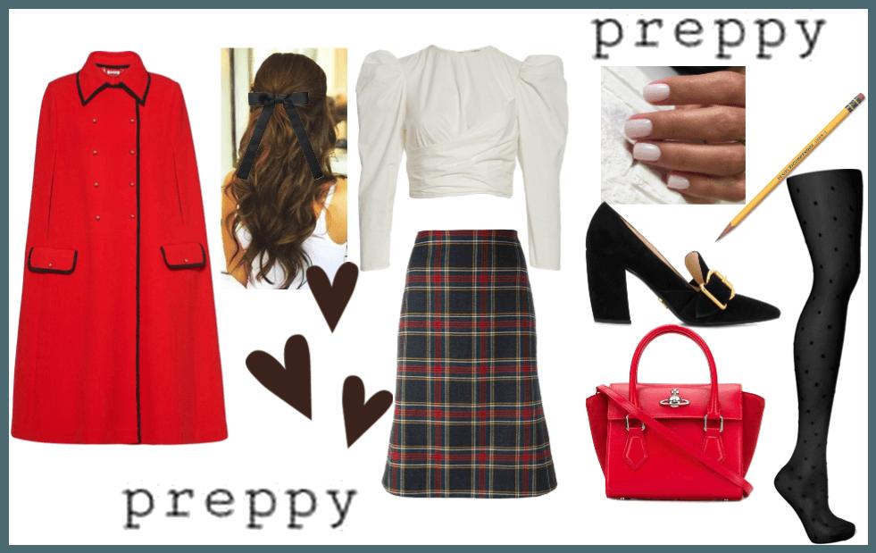 Preppy and trendy