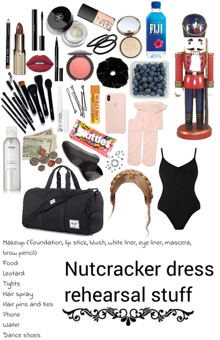 nutcracker ballet dress rehearsal stuff