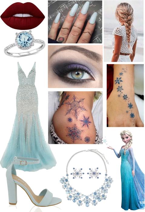 Elsa (Frozen) Outfit