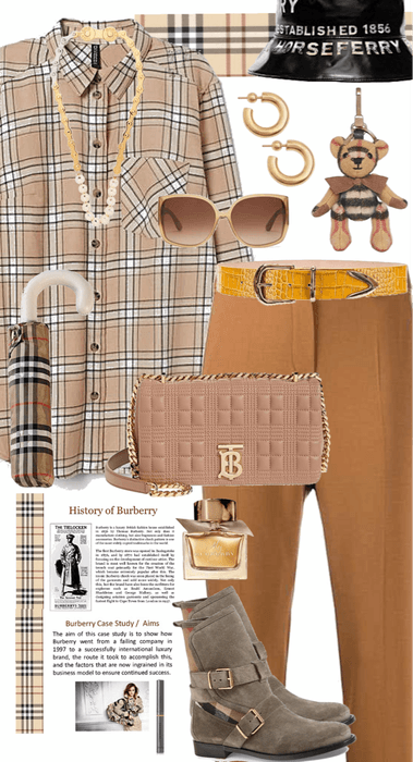 LIBRA Goes Burberry